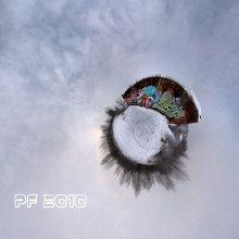 PF Toy / Маленькая новогодняя игрушка-планетка 7 кадров