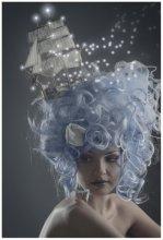 Мальвинины мечты / Арт-стиль Саша Чуянов. Модель Аня Дедковская. Кораблик насамделишный :)