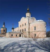 Смоленск и его окрестности 27... Аннозачатьевская церковь. / панорама, 3 горизонтальных кадра.
