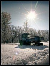 погряз среди зимы / ..........................