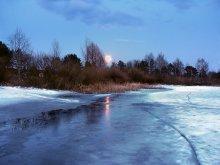 Сумерки / Лунный вечер марта.....