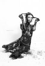#193. Чертили черными чернилами чертеж. / А потом тщетно пытались все отмыть ) Приятного просмотра!