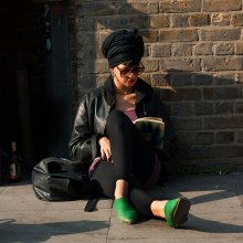 Brick Lane girl / London
