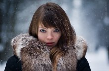 Зимний портрет / сегодня тоже был снег...