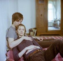 Ульрих и Вера (портрет в голубой комнате) / .......