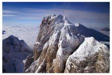 три товарища / самая высокая точка в Альпийских Доломитах. Marmolada, 3 342 м