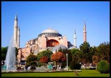 Собор Святой Софии / Шедевр византийской архитектуры с богатейшей историей.   Стамбул, Турция