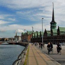 На работу II / Последняя из этой городской серии. Пока...)) Копенгаген.