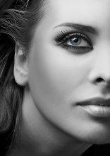 halfshe face / фото из серии Черно-Белое+деталь