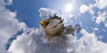 Попутчик / Хальч 2010 Сферическая панорама в проекции маленькая планета 6 кадров Для правильного восприятия рекомендуется просмотр во флеше http://fertilizermods.elteh.org/panorama/nature/halch_stop.html
