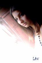 задумчивость / девушка на балконе