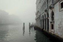 об иллюзорности жизни / туман в Венеции