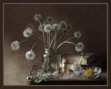 Пушистое лето / Люблю этот кусочек лета,когда все покрыто белыми одуванчиками........:)