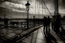 ...солнечное затмение... / one more time on the brooklyn bridge...