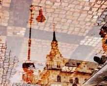 Пражская мозаика / отражение