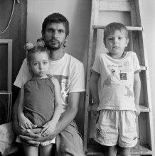 Сергей с сыном и дочерью / Сергей Новицкий фотограф из Витебска