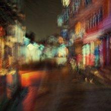 первое впечатление / Катманду, сказочный город. съёмка с рук, выдержка - 1,5 секунды