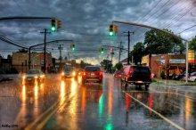 ...дождь...дорога...акварель... / ...снято через лобовое стекло...можно считать на ходу...приятного просмотра...