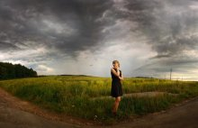 Панорамный портрет перед ненастьем / июль 2009