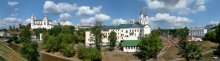 Витебск в августе / Вид на старый район Взгорье с улицы Пушкина. 11 августа.