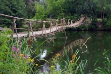 мост через ... / ..............
