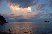 Ocean clouds / вечер на побережье Адриатики