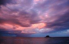 Ocean clouds-2 / все тот же вечер на побережье Адриатики