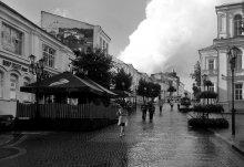 Дождь над Взгорской / В Витебске 25 августа.