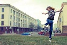 городская хореография / Можно забыть движение, нельзя забыть настроение