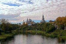Осень в Торжке / Торжок. Борисоглебский монастырь