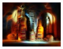 вечер (декорация) / слушая Rene Aubry http://www.youtube.com/watch?v=RPBzosFHwM8