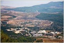 С километровой высоты / Вид с горы Мирон (высота 1200 метров)