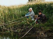 Чернобыльские встречи.На карасей.Брагин-Соболи 2003г. / Цветная плёнка,сканер