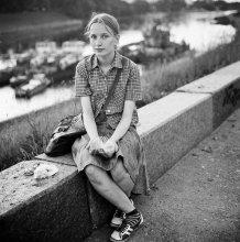 Лена (портрет на набережной в Витебске) / ..........