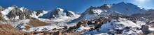 зимняя панорама  3 / ледник Туюк-Су