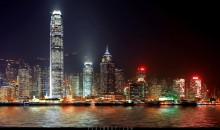 Иные миры / Вид на остров Гонконг ночью