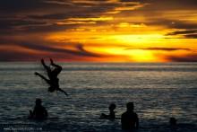 Закат на Андаманском море / Во время путешествия по ЮВА. Много фото с комментариями у меня в блоге как всегда: http://toxaby.livejournal.com/
