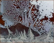 Живопись Зимы / Зимние узоры на окне