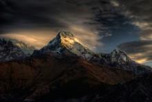 Вершина Аннапурна (Annapurna South 7219 m) / непал - горы