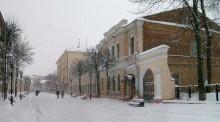 Зима на старой улице / Витебск. Улица Суворова. 28.12.10.