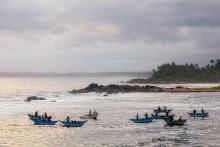 Вечерняя рыбалка / Шри Ланка. Диквелла