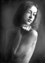 портрет девушки / стилизация под рэтро