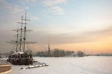 """""""Летучий голландец"""" / Санкт-Петербург. Январь. Редкий ясный день"""
