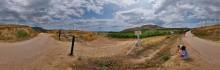 Виноградники Солнечной долины / Фрагмент сферической панорамы. EOS 450D, EWP Fisheye Lens МС 8mm f/3.5, PTGui 6 кадров Рекомендуется просмотр во флеше. http://sferitus.com/panorama/nature/vineyards.php