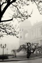 Туманный день в Одессе. / В тумане скрылась милая Одесса...
