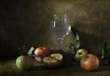 Яблочный натюрморт / Яблоки с дачи...