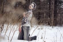зимой* / Модель - Оля