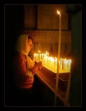 литургия (2) / Иерусалим. Храм Гроба Господня. Голгофа.