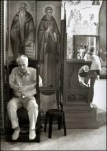 тяжкие думы / Израиль. Греческий православный храм 12-ти апостолов в Капернауме, городе на северном берегу озера Кинерет (Галилейского моря).