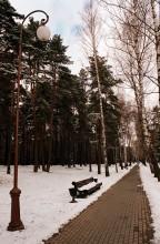 Прогулка по парку 2 / Последний снег